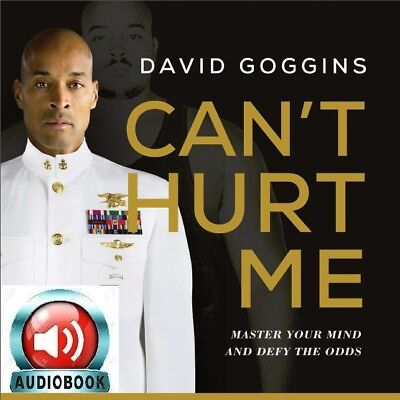 Can't Hurt Me Master Your Mind and Defy the Odds by David Goggins **AUDIOBOOK**