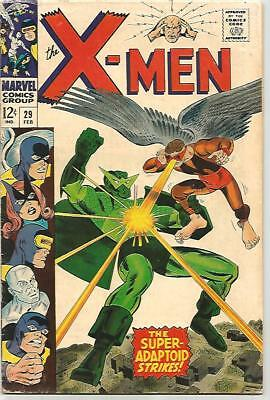 X-MEN #29    Beautiful Early Silver Age - FN5.8 to FN6.0