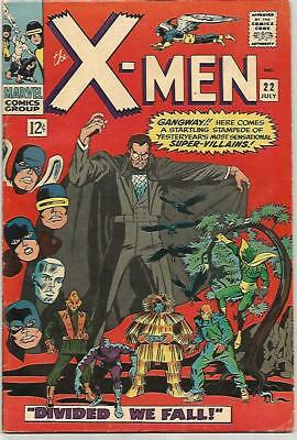 X-MEN #22    Beautiful Early Silver Age - FN5.8 to FN6.0
