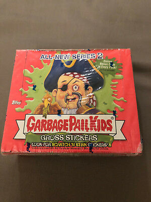 2004 Topps Garbage Pail Kids All New Series 2 Sealed Box Of 36 Packs