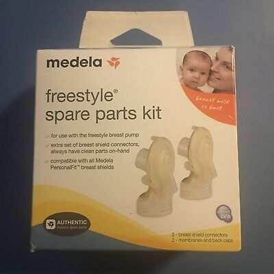 Medela Freestyle Spare Parts Kit 67061 NIB sealed for Freestyle Breastpump USA