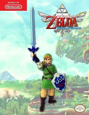 World of Nintendo The Legend of Zelda Skyward Sword LINK Figure 4 Inch