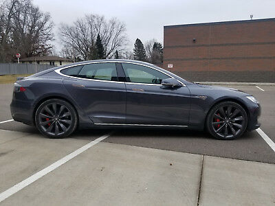 2015 Tesla Model S P90DL 2015 Tesla Model S P90D with Ludicrous Speed