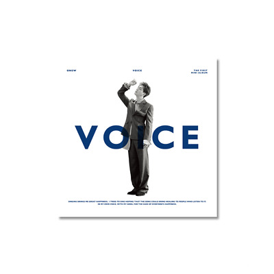 [Pre Order 7-15 Days] Shinee : Onew - Mini Album Vol.1 - Voice ( Random Ver. )