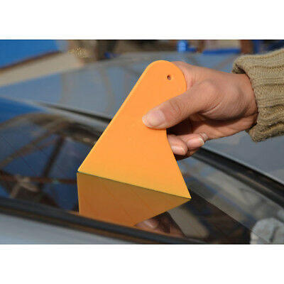 Carbon Fiber Film Wrap Scraper Tool Bubble Window Wrapping Film Squeegee  #D
