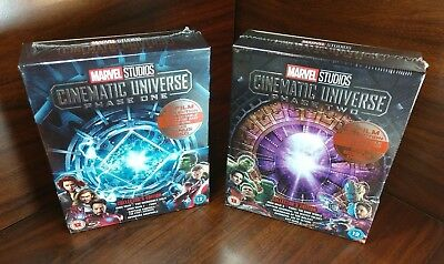 Marvel Studios Cinematic Universe:Phase One &Two Collection(Blu-ray,REGION FREE)