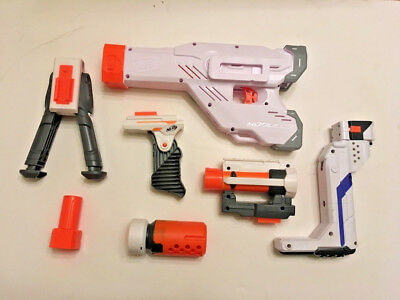 Lot of loose NERF Modulus pieces/accessories • Mediator, Stealth Ops, more