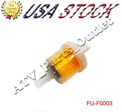 Universal Magnet Gas Fuel Filter for 50cc 90 250cc GY6 Motorcycle Dirt Bike ATV