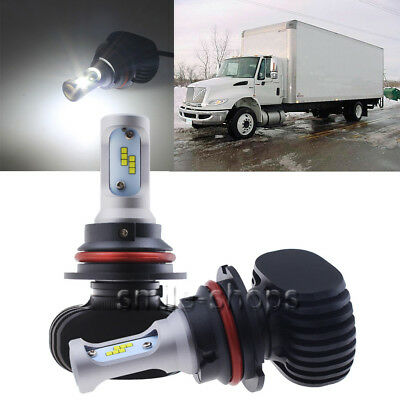 50W 9007 HB5 LED Headlight Bulb Kit For International Truck 4300 4400 2003-2012
