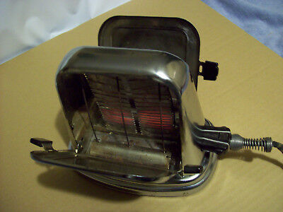 Vintage Antique old Toaster McGraw Electric Co Bersted Art Deco Toaster Model 71