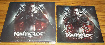 Kamelot The Shadow Theory Deluxe Edition 2CD with Autographed / Signed Booklet