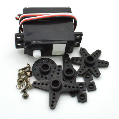 DS04-NFC 360° Continuous Rotation Servos DC Geared Motor For RC Robots Kit Set