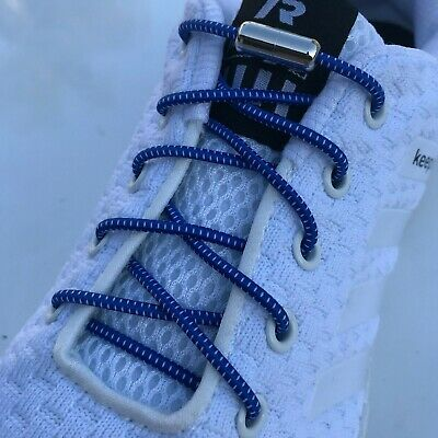 No Tie Elastic shoelaces easy Shoe laces strings for Sneakers Canvas kids adults