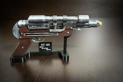 DT-29 Heavy Blaster Pistol with stand | Star Wars Replica | Star Wars Props