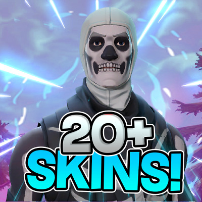 Fortnite account 20+ skins from 20 skins to 250 fortnite cuenta compte fortnite