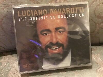 Luciano Pavarotti - The Definitive Collection - 4 CD New and Sealed