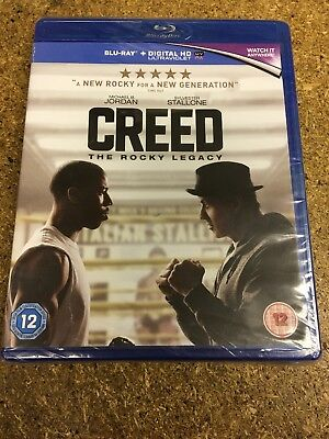 Creed [2016] [Region Free] (Blu-ray) New & Sealed (view My Other Items For Sale)