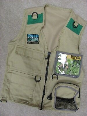 Kids Safari vest by Summit excellet condition size 5 years and up
