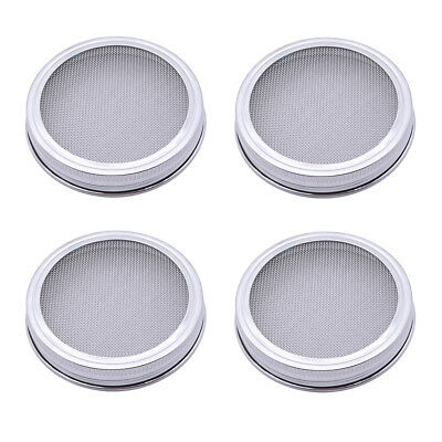 Sprouting Round Seed Sprouting Screen Canning Seed Lids Screen for