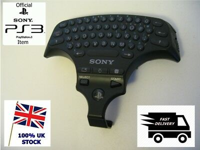 Official Sony Playstation 3 PS3 Wireless Controller Keypad ChatPad