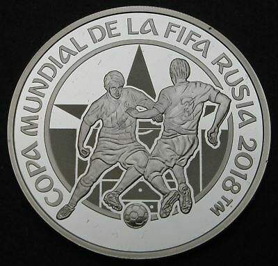 PARAGUAY 1 Guarani 2017 Proof - Silver - FIFA World Cup Russia - 1692