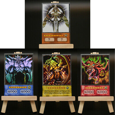 YUGIOH ORICA GOD CARDS SET | Custom Anime Card Slifer Obelisk Ra Holactie