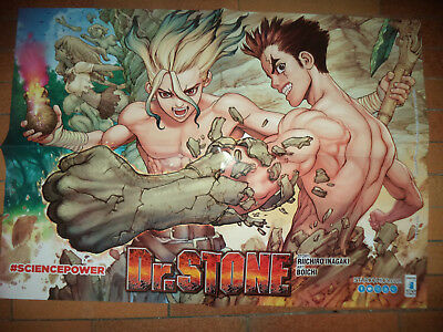 Dr. Stone - Star Comics - Poster (48X68)  Nuovo