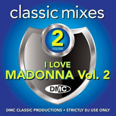 DMC Madonna Vol 2 Remixes, Two Trackers & Megamixes DJ CD Ft Ray Of Light Mix