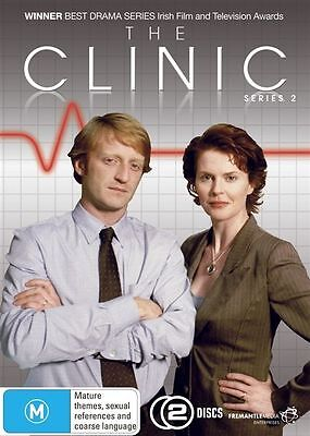 The Clinic: Series 2 (DVD, 2-Disc Set)  Region 4 - New and Sealed