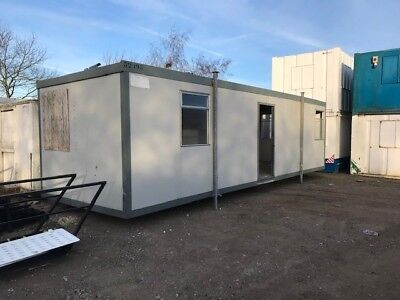 32'x10' Plastisol Steel Office and Canteen Unit