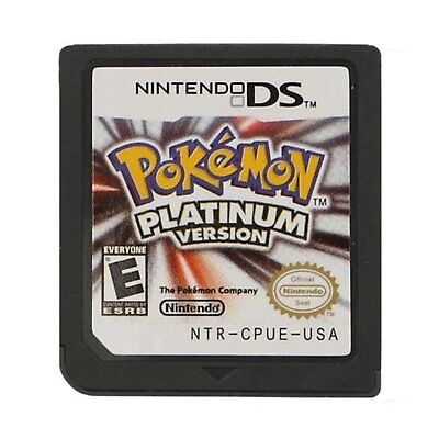 Pokemon Platinum US Version Game Card for Nintendo DS 3DS NDSi NDSL NDS Lite New