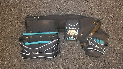 Makita Heavyweight Tool Belt - 3 Pouches