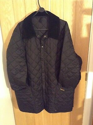 Barbour Liddesdale Quilted Mans Coat XL