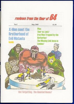 Past Perfect #5 FANTASTIC THOR X-MEN IRON MAN MISSING LINK JOHNNY FUTURE POWER
