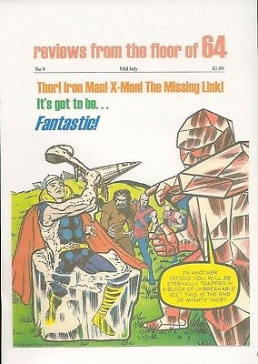 Past Perfect #9 FANTASTIC THOR X-MEN IRON MAN MISSING LINK JOHNNY FUTURE POWER
