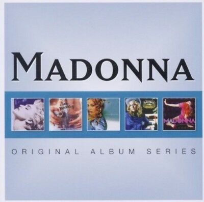 Madonna - Original Album Series 5CD NEU & OVP (Best Of Greatest Hits)
