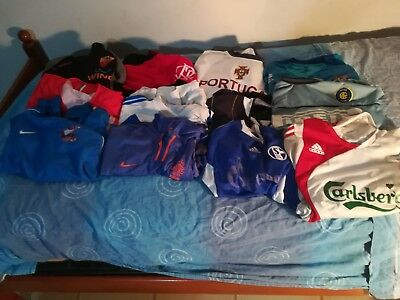 vendo stock di 12 maglie da calcio