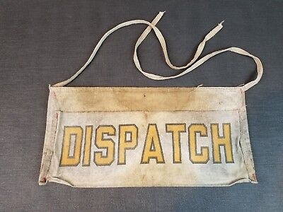 "Vintage Newsboy Canvas Bag for ""Columbus Dispatch"" Newspaper Columbus Ohio"
