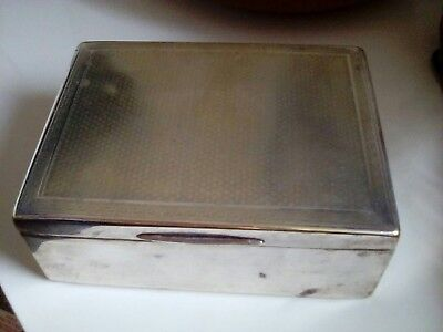 silver plated box