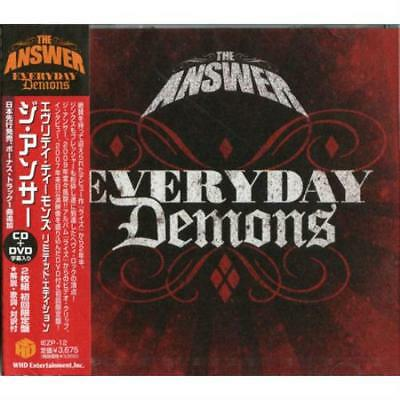 Answer Everyday Demons 2-disc CD/DVD set Japanese IEZP-12 WHD ENTERTAINMENT