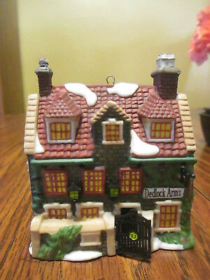 """""""Deadlock Arms"""" Collectors Edition Ornament 1994 DEPT. 56 Charles Dickens"""
