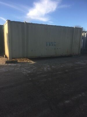 Shipping Container. Site Storage Cabin. 21ft x 8ft