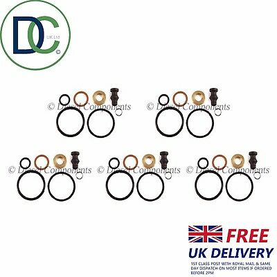 Injector Nozzle Seal Kit x6 for VW TRANSPORTER 1.9 TDI T5 AXB/AXC ...