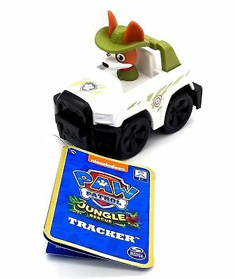 New PAW PATROL Vehicle TRACKER'S JUNGLE RESCUE RACER  In Hand VHTF Rare RACERS