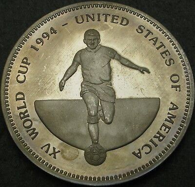 UGANDA 1000 Shillings 1994 Proof - World Cup USA '94 - 2549 ¤