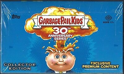 Topps Garbage Pail Kids 30Th Anniversary**hobby Box  Collectors Edition 24 Packs
