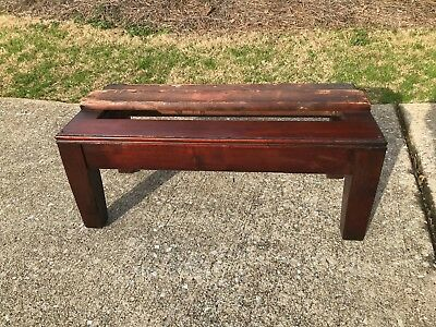 3/4 Globe Wernicke D or C 398 Mahogany step back Bookcase Base