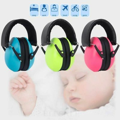 BNIB Baby Headphones Noise Cancelling Sensory Protection Green 0-2 Years Infant