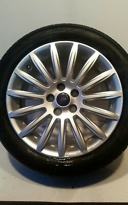 Ford Mondeo Mk4 R17 Alloy Wheel With 6.5Mm Tyre (See Photos) 2010-2014 Wj63-1