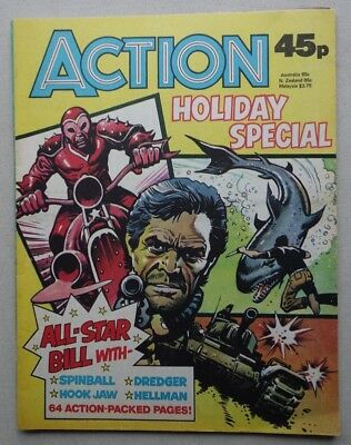 Action Summer Special comic 1980 FIRST WE'VE SOLD FN/VFN (phil-comics)